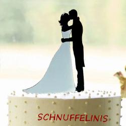 Cake topper Brautpaar...
