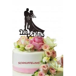 Cake topper Brautpaar +...