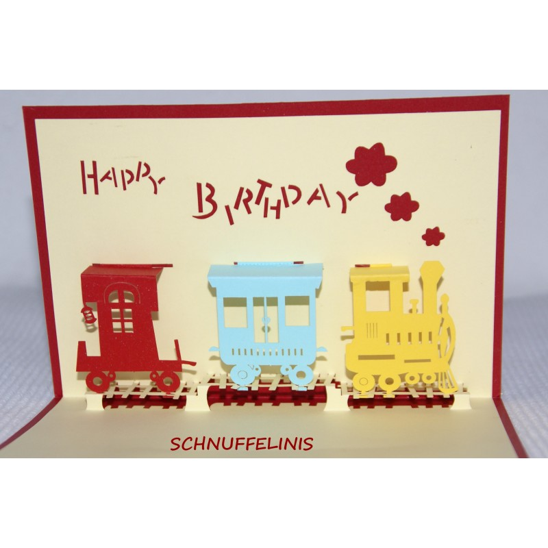 Surprising Happy Birthday Card Popup Card Birthday Train Funny Birthday Cards Online Inifofree Goldxyz