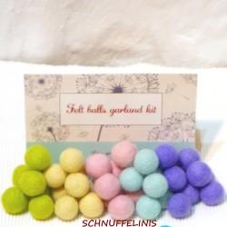 Felt balls spring mix2