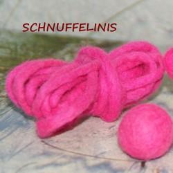 Filzschnur dünn 13 neon pink