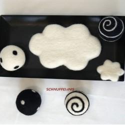 Filzwolken für Mobile
