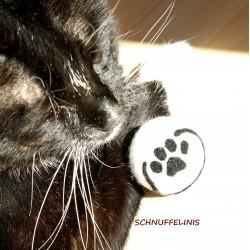 Cat toy - funny felt balls