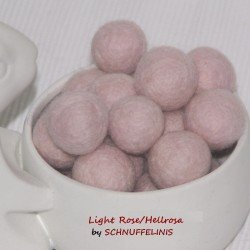 Felt Balls 47 light rose