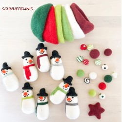 Color sorting set - Christmas