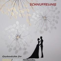 Hochzeitsposter Feuerwerk