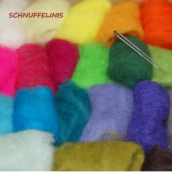 felting wool 10gr./0,228oz