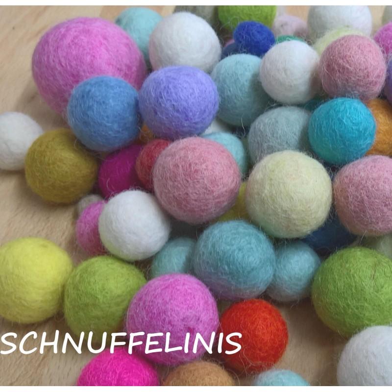 Felt balls Sale 12,3oz./350gr