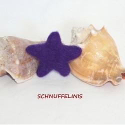 Filzsterne 48 knall-lila