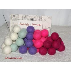 felt balls garland KIT...