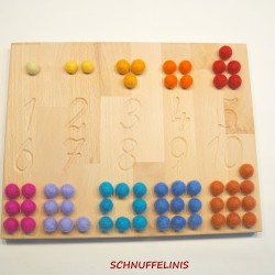 Number traching boards 1-10