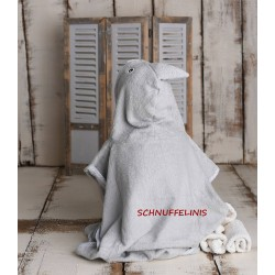 Embroidery Bath robes and hooded towels