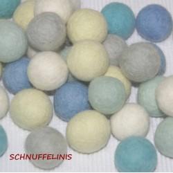 felt balls garland set...