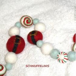 Christmas garland DIY Santa