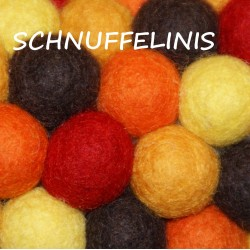 Felt balls autumn sets