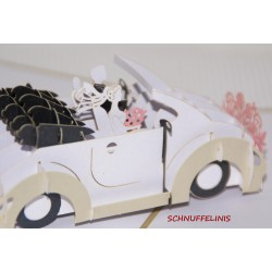Wedding card Wedding car,...
