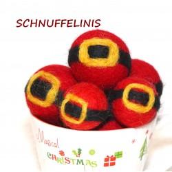 Christmas ornaments Santa...