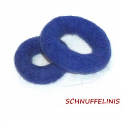 felt rings in 2 sizes...