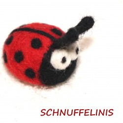 Felted Ladybug Hugo