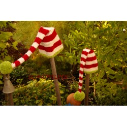 Elf hats DIY knitting...