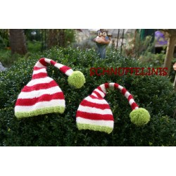 Elf hats DIY knitting...