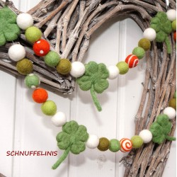 St Patrick's Day Garland
