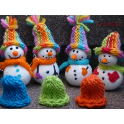 Snowman Needle felt Set DIY...
