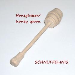 Wooden honey spoon kids...
