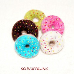 felted donuts