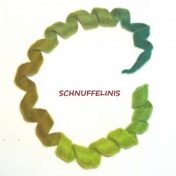 felted cat toy S5 - green