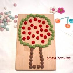 Fruit tree board cherry