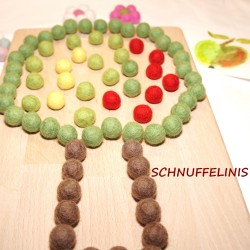 Fruit tree board apple