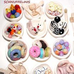 Felt bowls your color