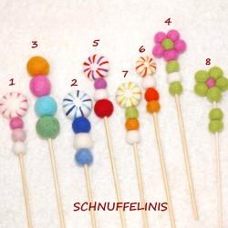 Lutscher, Blumen Bouquet