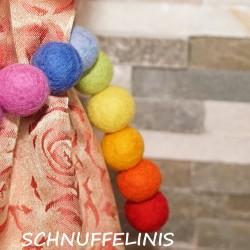 Curtain tie backs Rainbow