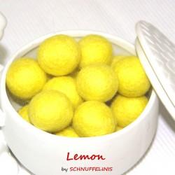 Felt Balls 03 lemon