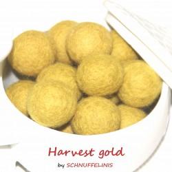 Felt Balls 05 harvest gold
