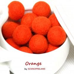 Felt Balls 07 orange