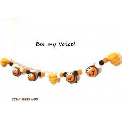 Garland honey bees