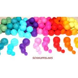 felt balls 80pc. sprinkles mix