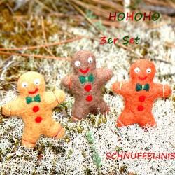 Christmas ball gingerbread men