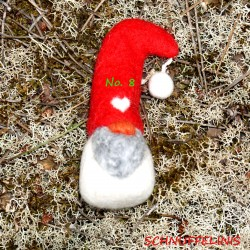 Christmas gnomes red