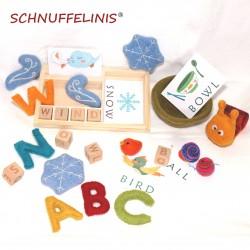Montessori English spelling...