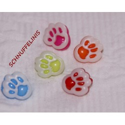 Kids button - Paw with...