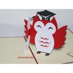 Graduation - Back to school, Popup card 3D