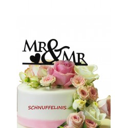 Cake topper Couple MR&MR