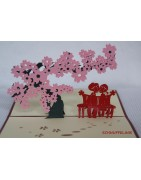 Popup cards, 3D greeting cards, Christmas cards, gift cards